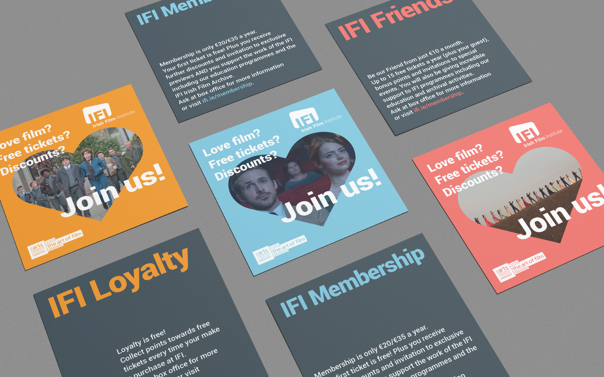 Irish Film Institute Membership marketing