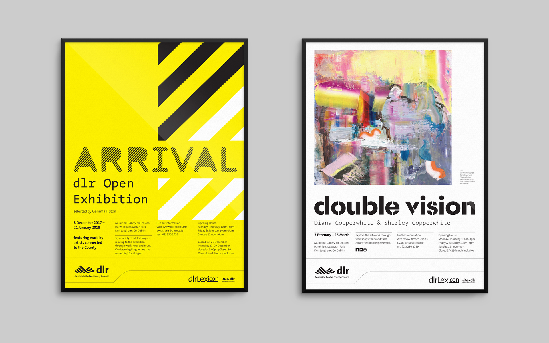 Municipal Gallery exhibition posters 2