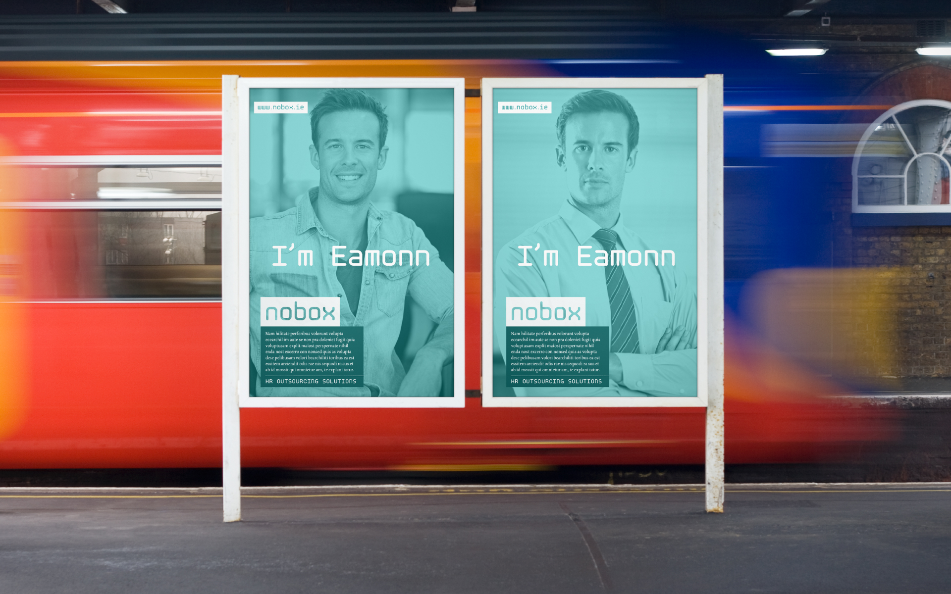Nobox HR Outsourcing Solutions outdoor advertising