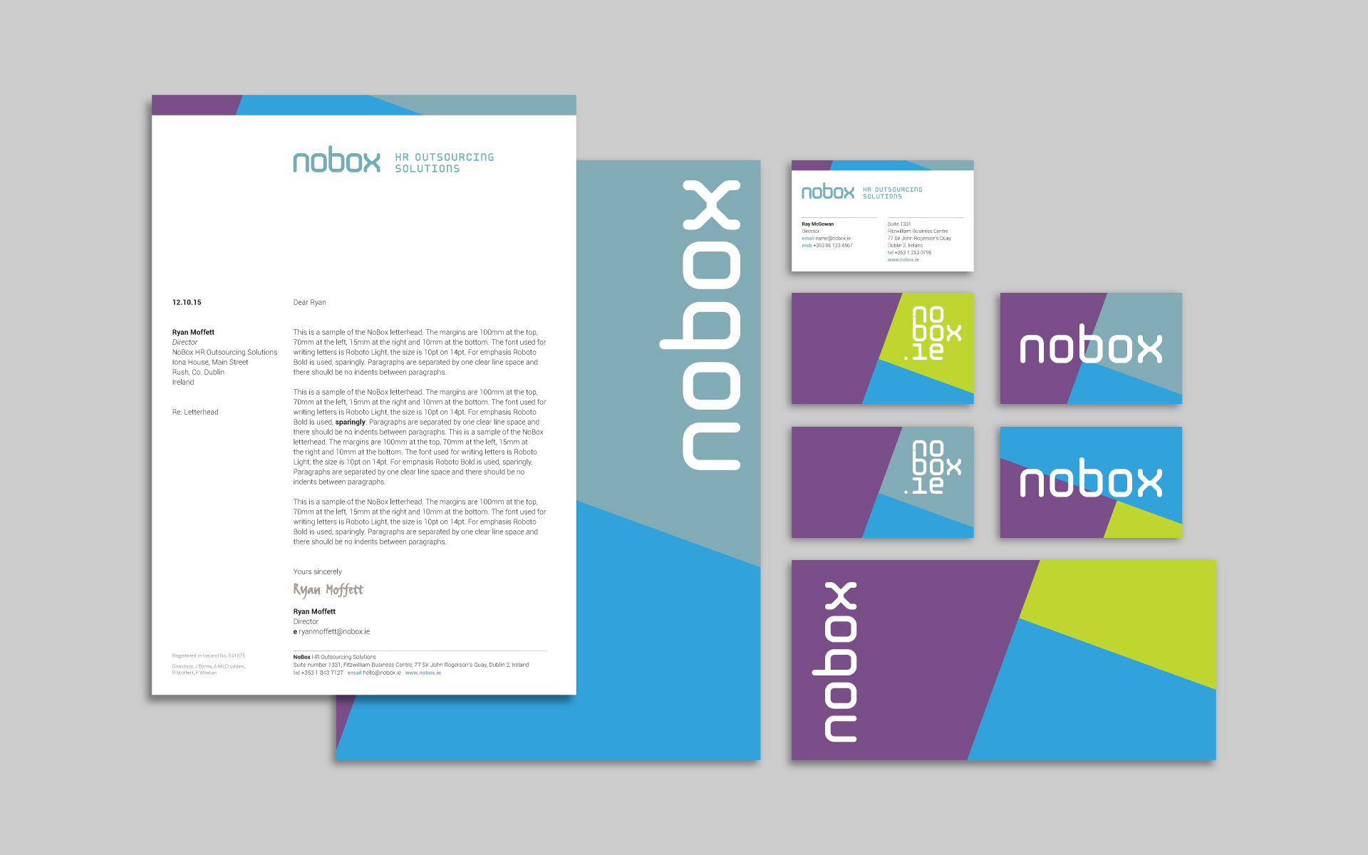 Nobox HR Outsourcing Solutions stationery system